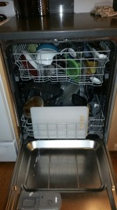 Crowded Dishwasher